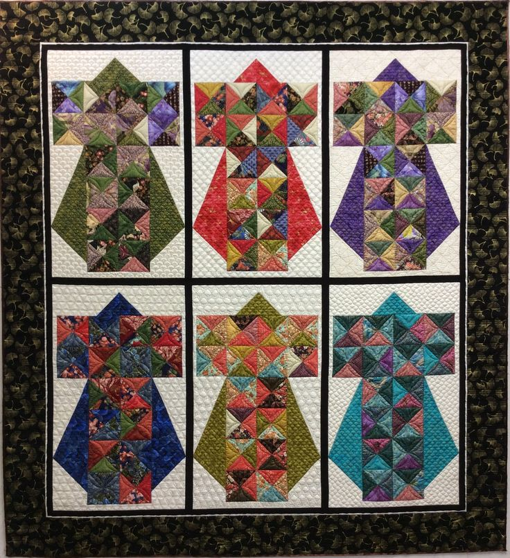 Beautiful, award winning quilt done by Inger Blood.  She used different backgrounds in each block from The Ultimate Backgrounds stencil set.