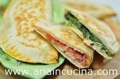 Blog di cucina di Aria: Cassoni o crescioni romagnoli