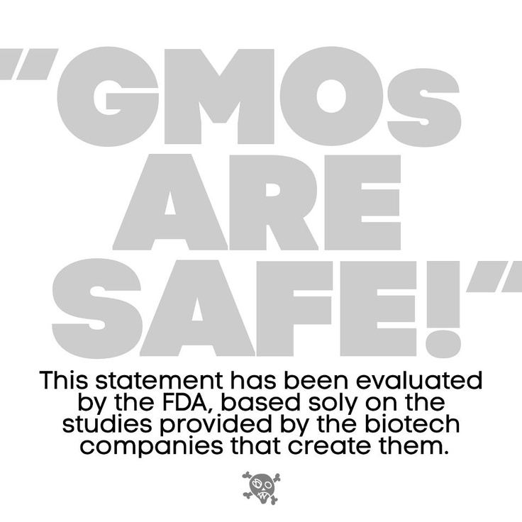 You might think the FDA thoroughly tests GMO foods to make sure they are safe. In fact, the FDA doesn't test them at all.  Read more: http://www.cbsnews.com/2300-204_162-10004920-2.html