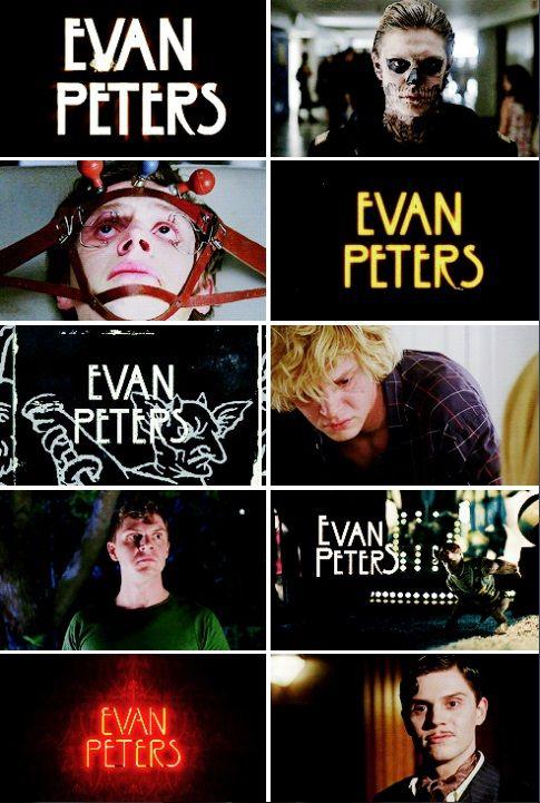 Evan Peters in AHS