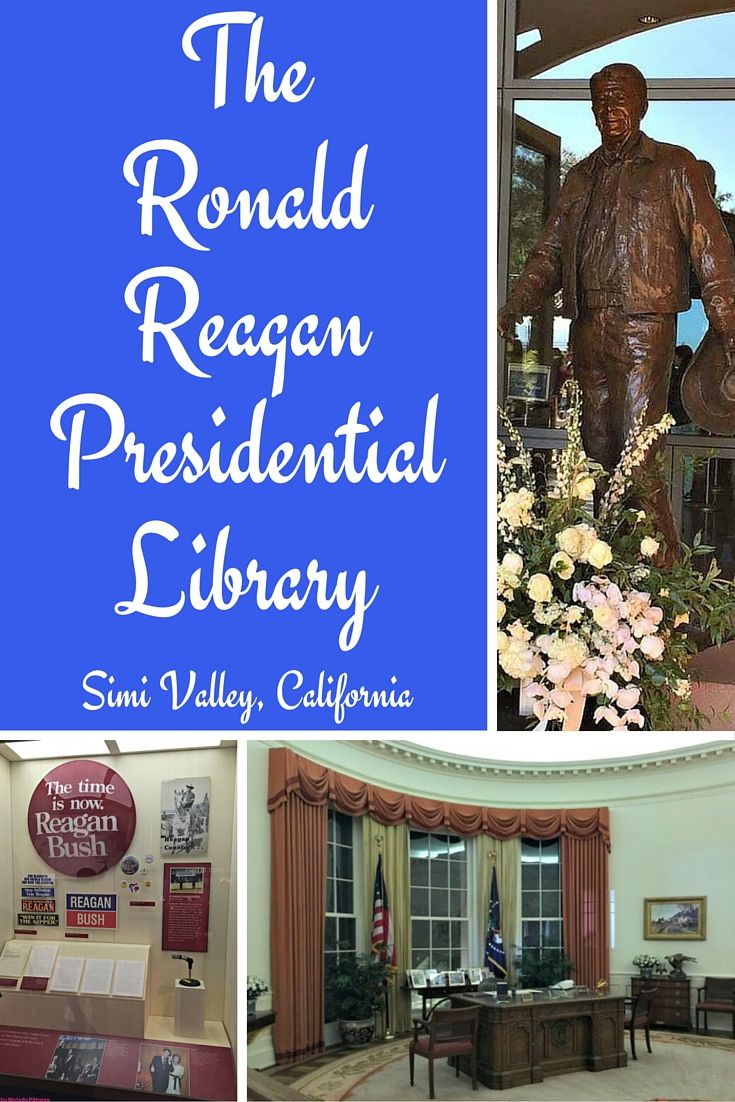 Taylor and I stopped by the Ronald Reagan Presidential Library on our drive from San Luis Obispo to Laguna Beach. What a great side trip. This is one incredibly designed state-of-the-art museum.