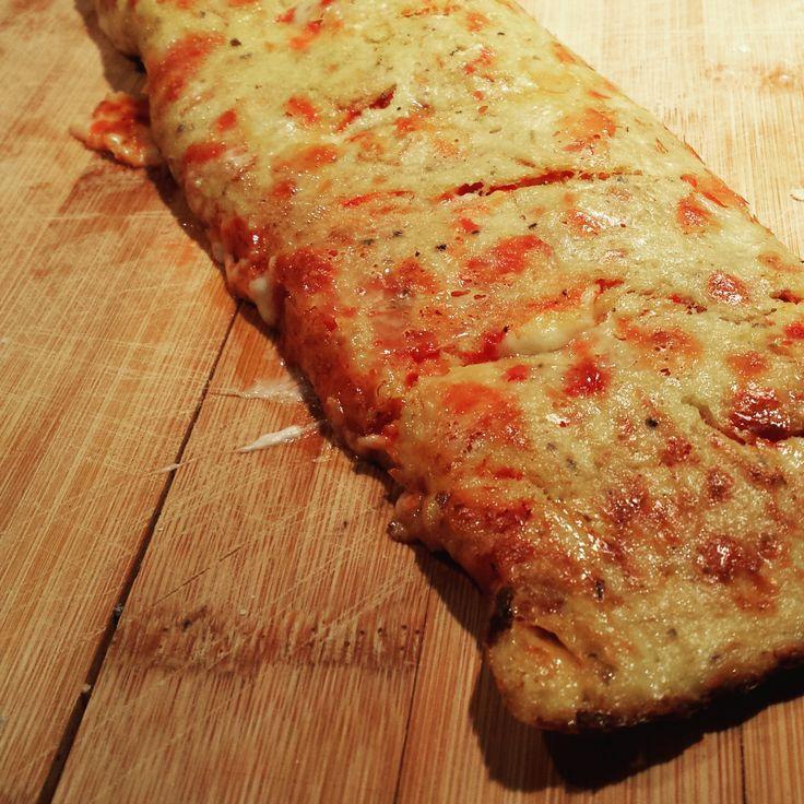 Pizza stromboli au chou-fleur - Bibitte à Bouffe