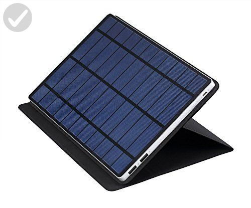 Solartab S1111 Solar Charger – Charcoal Grey - Home smart home (*Amazon Partner-Link)
