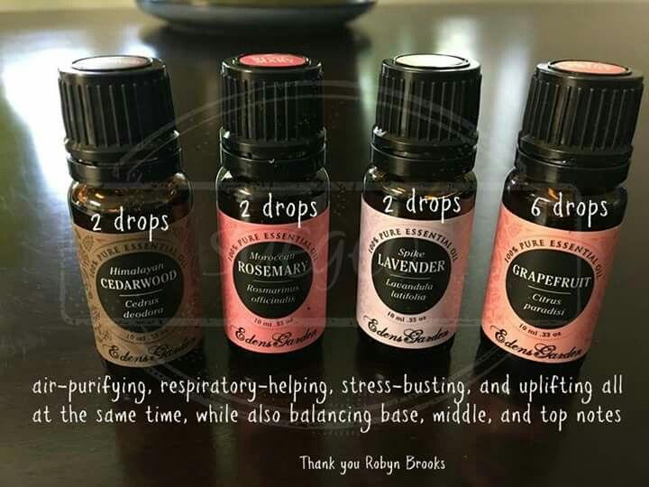 Edens Garden Essential Oils Diffuser Blend
