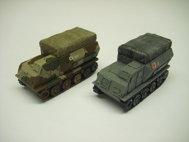 Our latest resin model for the  wargamer in 28mm 1/56 scale Japanese Ho-Ki tracked personnel carrier from WW2.