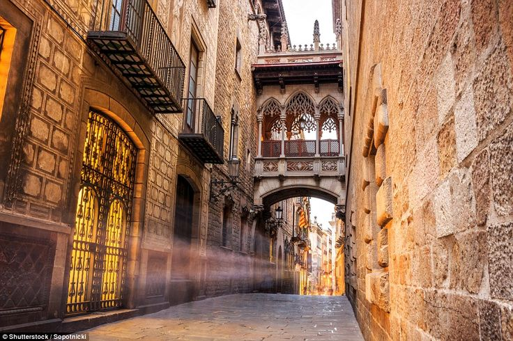 Explore the medieval charms of the Old Quarter of Gothic and Romanesque buildings in Griona, northern Catalonia, pictured