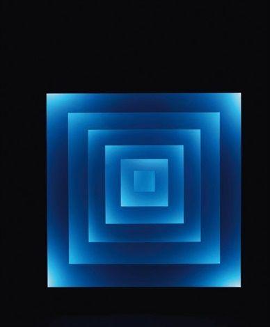 (1923-2007) Espaces chromatiques carrés by Gregorio Vardanega