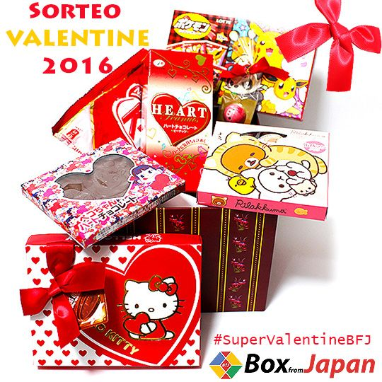 Entra en la competencia de la Super caja de Valentine de @BoxFromJapan
