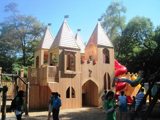 The Castle At Jamie Bell Adventure Playground In High Park