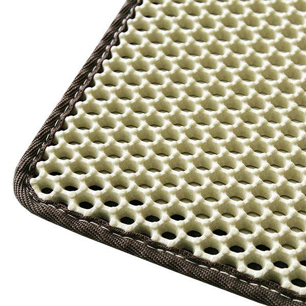 Nie mehr Katzenstreu in der Wohnung verteilt !    Die 2-Lagen Zauber-Matte von der CanadianCat Company  Durch die Verwendung von besonders strapazierfähigen und leichten Materialien kann die Zauber-Matte kinderleicht...