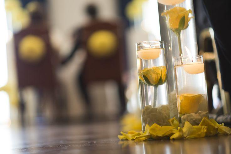 un cuento de boda, boda amarillo