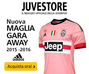 Maglie Juve Home e Away Image Banner 300 x 250