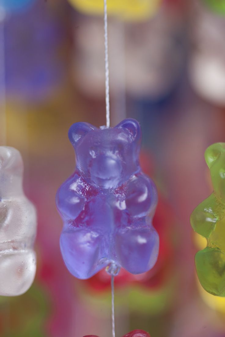 40 best gummy bear images on pinterest gummi bears jelly beans designer kevin champeny created a series of chandeliers made out of over hand cast acrylic gummy bears candelier for home furnishings company jellio arubaitofo Image collections
