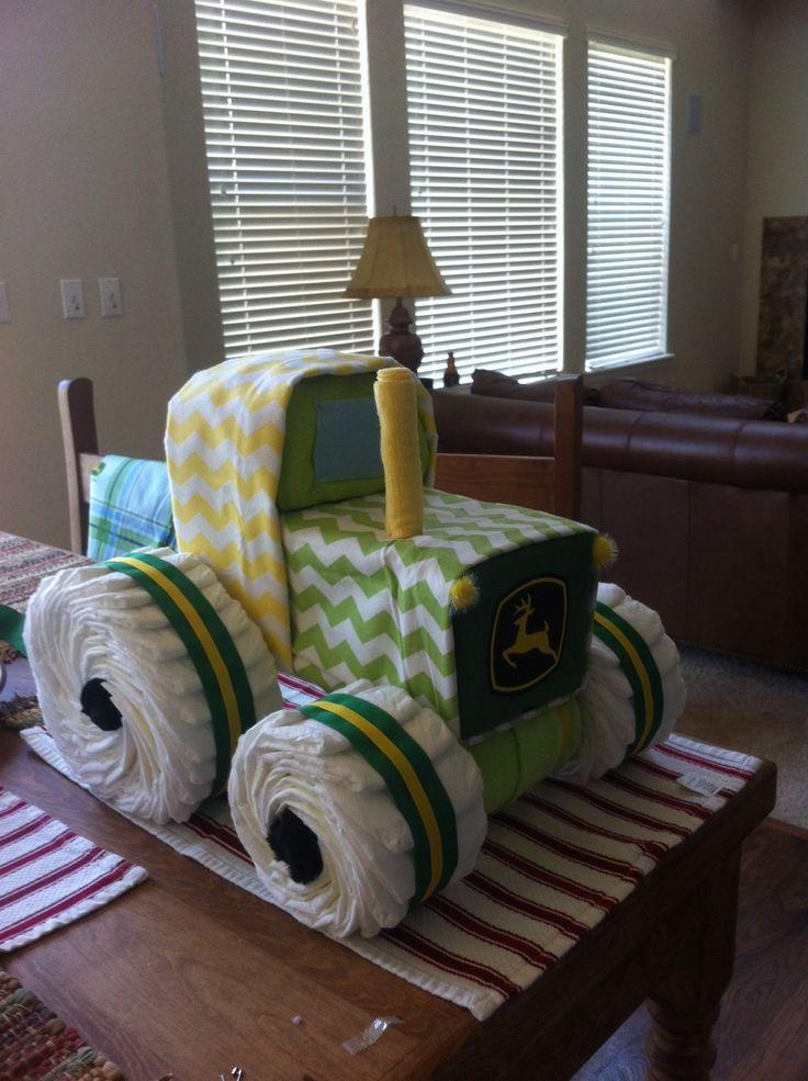 John Deere Diaper Tractor : Diaper tractor john deere completed projects