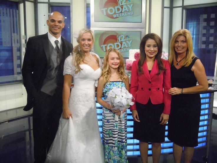 Arizona Wedding Planner Kim Horn Live On NBC Channel 12 Set After Being Interviewed
