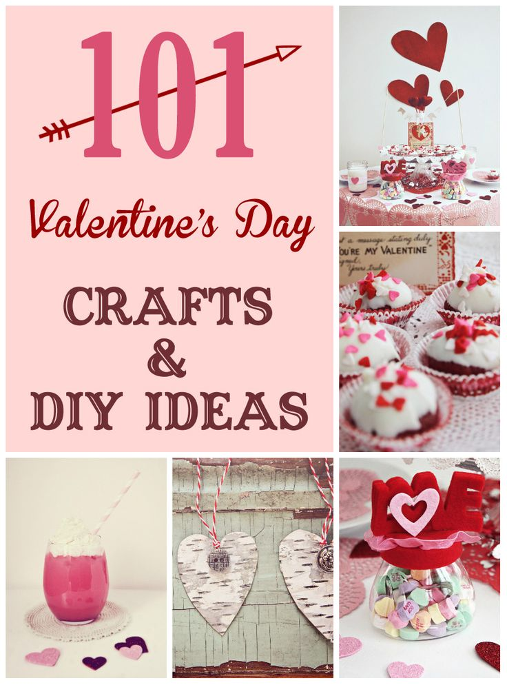 101 Valentine's Day Crafts and DIY Ideas