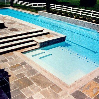 Pools With Lap Lane Design
