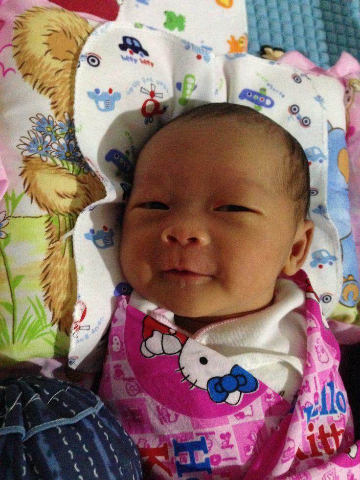 How cute she is ^^