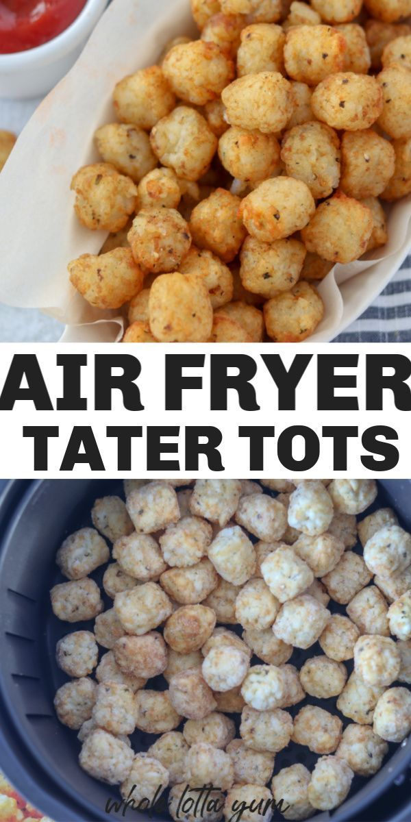 Tater Tots in Air Fryer Recipe in 2020 (With images