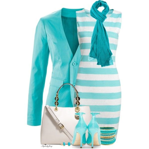 """""""Turquoise"""" by stylesbyjoey on Polyvore"""