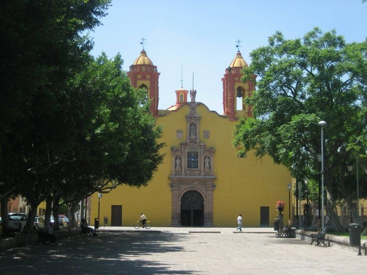 Iglesia San Miguelito, San Luis Potosi, Mexico - this is the church my Grandfather was baptized in 1912