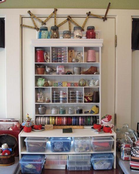 52 best Craft Room Ideas images on Pinterest | Craft rooms, Craft ...