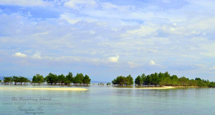The vanishing Island of Samal, Davao del Norte, Philippines
