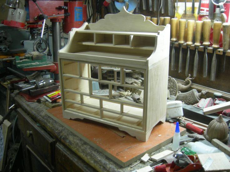 Çekmeceli Modelciler için özel yapım alet kutusu