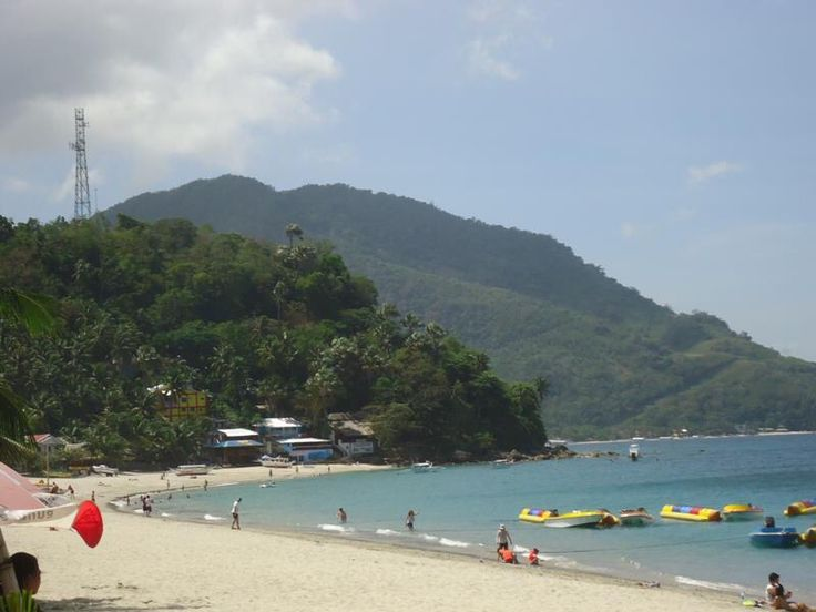 White Beach  at Puerto Galera, Oriental Mindoro