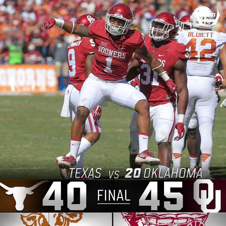 2016 OU Beats Texas