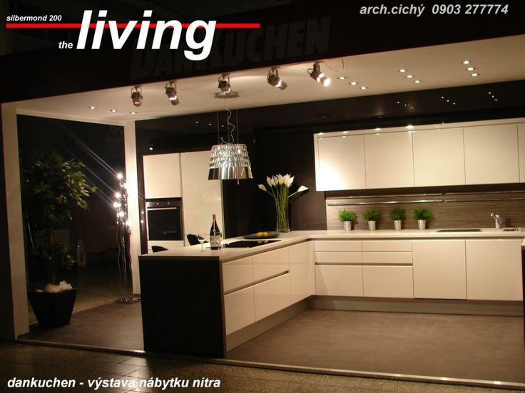 living « DanKüchen – lesklé lakované kuchyne v cene matných ... | {Dan küchen living 47}
