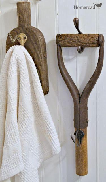 Farm Tool Handle Hooks