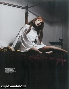 Patricia van der Vliet in 'There's Something About Mary' - Photographed by Paul Berends (Elle Netherlands December 2012)    Complete shoot after the click...