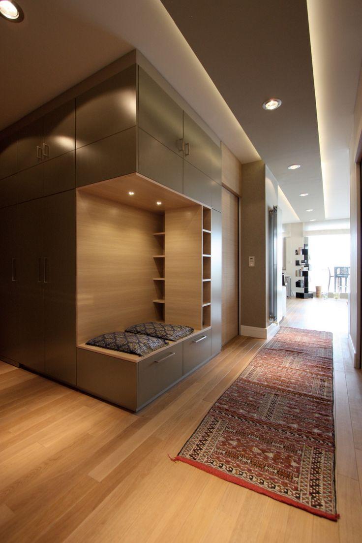 Egyedi előszoba bútor / Stunning apartment - custom furniture in the hall