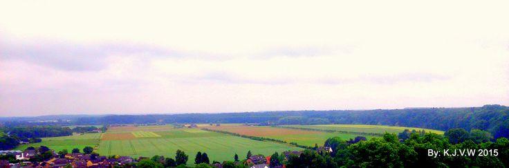 Kleve Fields   seen from the tower of schwanenburg