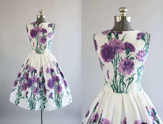 Hey, I found this really awesome Etsy listing at https://www.etsy.com/listing/271455301/vintage-1950s-dress-50s-cotton-dress