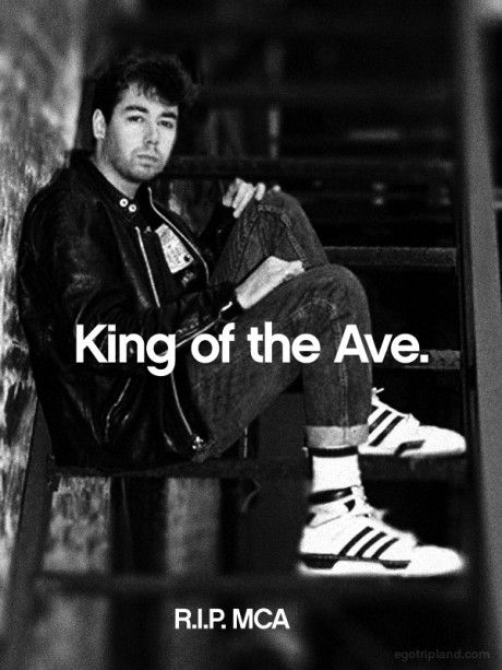 Adam Yauch a/k/a MCA of the Beastie Boys (1964-2012). #BeastieBoys #RIPMCA