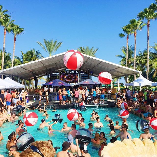 Best Pool Party In South Beach Miami At The Kimpton Surfcomber Summer Vibes 2018 Pinterest And