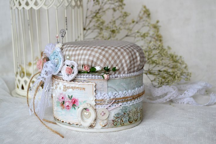 altered pin cushion can tutorial