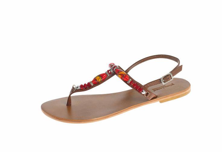 Ethnic mood... Sandalo infradito in saldo a 25,99 euro!!!  COD. PD014410233  #sandali  #PrimadonnaCollection