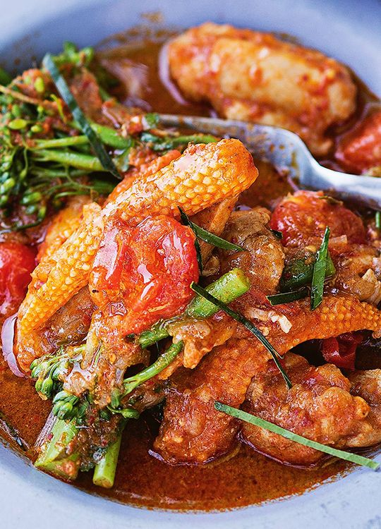How to make Make-Ahead Kaffir Lime Chicken Curry. Perfect for those camping trips!