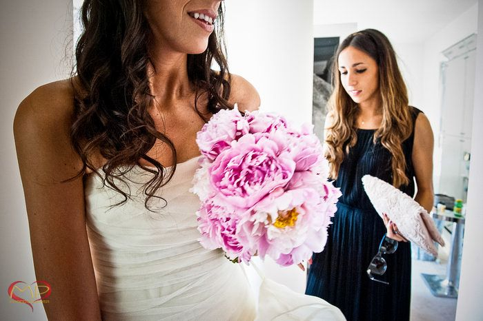 Wedding in Venice / Beautiful bride & beautiful flowers!