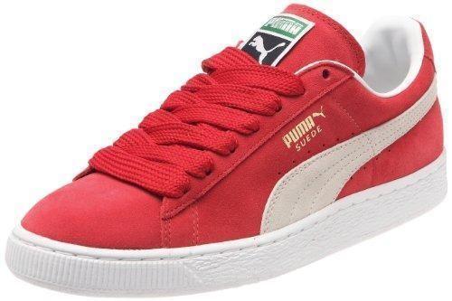 Oferta: 79.94€ Dto: -43%. Comprar Ofertas de PUMA Suede Classic+ - Zapatillas de cuero para hombre, Rosso ( Rot (team regal red-white 05)), 43 barato. ¡Mira las ofertas!