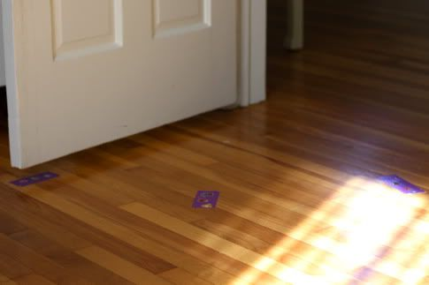 Toddler tape trick for bedtime