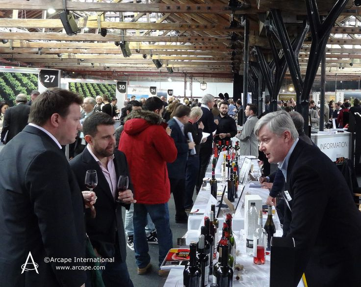Inside the historic Tobacco Dock, in the East End of London whilst the Wines from Spain Trade Fair 2015 was taking place.