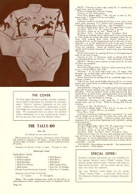 Subversive Femme: Curvy Month Four - Tally-Ho Novelty Jumper, c 1940s/1950s