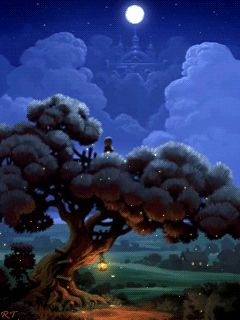 Сказочное дерево - анимация на телефон №1265649