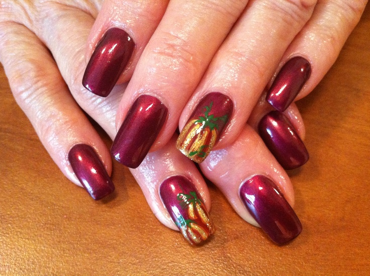 fall nail art fall nail nails by colleen makeup 31167