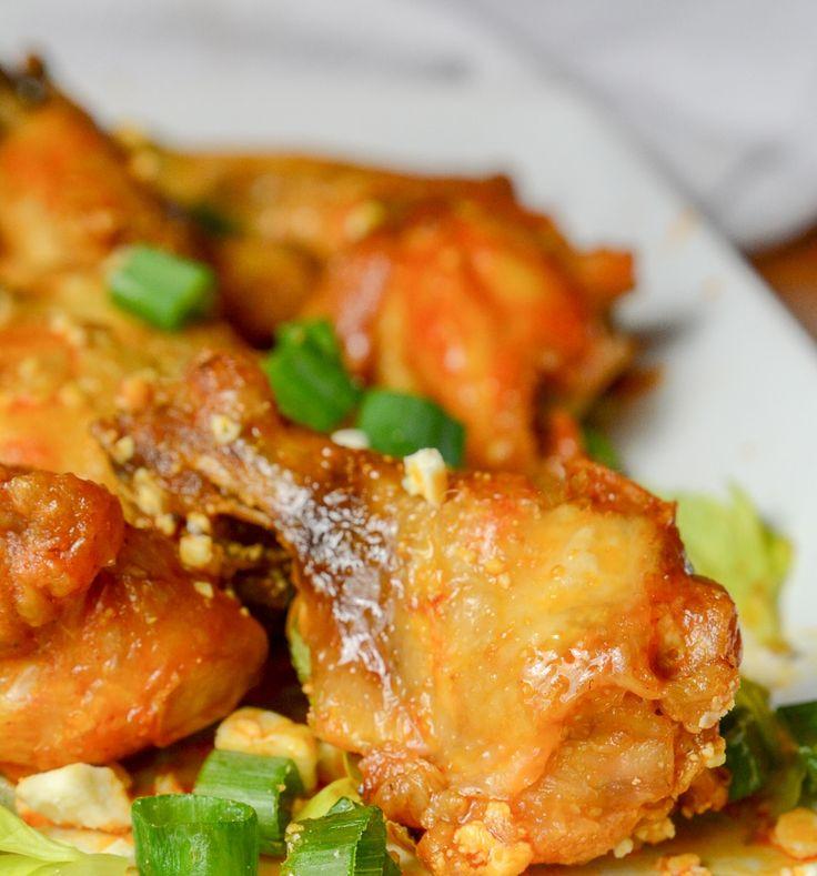 Instant pot or ninja foodi crispy buffalo wings food