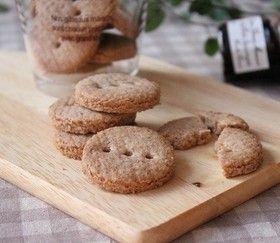 全粒粉100%クッキー